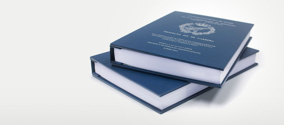 Thesis/dissertation binding & printing (London): bound to any ...